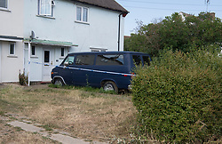 © Licensed to London News Pictures. 23/07/2018. Rochford, UK. Police tape marks a crime scene at a property in Rockford where a woman has been arrested on suspicion of murder after child died  The victim was taken to hospital by Air Ambulance but died shortly afterwards.  Photo Credit Simon Ford/LNP