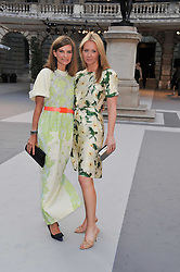 Left to right, NATALIE MASSENET and KATE REARDON at the Royal Academy of Arts Summer Exhibition Preview Party at Burlington House, Piccadilly, London on 2nd June 2011.