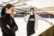 Assago, Febbraio 2013. Anna Cappellini (26) Luca Lanotte (27), campioni italiani di pattinaggio di figura (danza su ghiaccio), bronzo agli europei di Zagabria 2013, si preparano per i Campionati mondiali che avranno luogo a London (Canada) dal 11 al 17 marzo 2013. Coppia fissa da 8 anni, i due atleti sono legati dall'amore per la danza, ma nella vita di tutti i giorni tra loro c'è solo una forte amicizia.