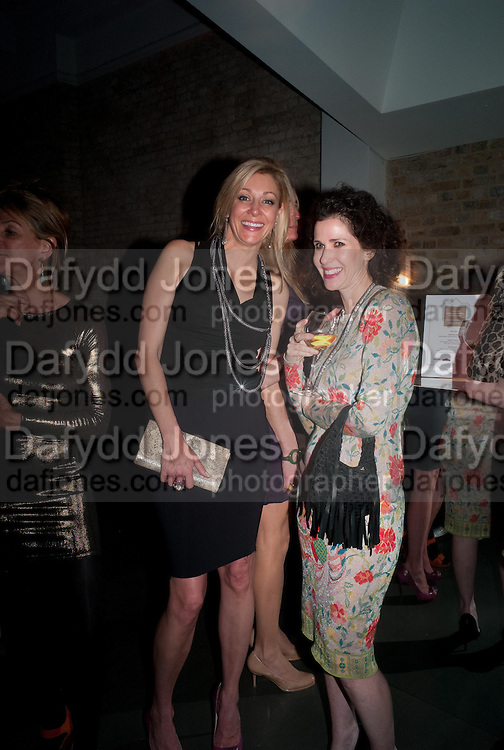 NADJA SWAROVSKI; MOLLIE DENT-BROCKLEHURST  Swarovski Whitechapel Gallery Art Plus Opera,  An evening of art and opera raising funds for the Whitechapel Education programme. Whitechapel Gallery. 77-82 Whitechapel High St. London E1 3BQ. 15 March 2012