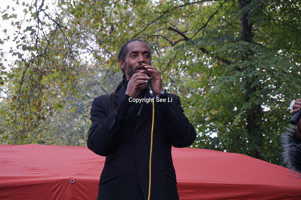 London, UK. 8th October, 2016. Local community having a great day out at the Efiba Arts and the African cultural development proudly presents for the 3rd year running  - The Tottenham Green Multicultural Festival with suprise guests Britain's Got More Talent 2016 Rory 'Michael' Jackson Dance Tribute and Talentogroup Arts,London,UK. Photo by See Li