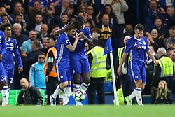 Goal Cesc Fabregas of Chelsea scores, Chelsea 4-3 Watford - Mandatory by-line: Jason Brown/JMP - 15/05/2017 - FOOTBALL - Stamford Bridge - London, England - Chelsea v Watford - Premier League