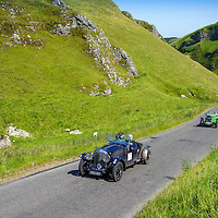 Charles Graves and Ron Palmer in their Bentley Derby Special on the Royal Automobile Club 1000 Mile Trial 2015
