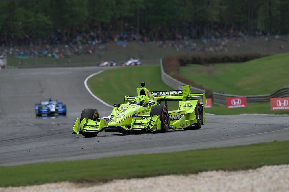Simon Pagenaud, Honda Grand Prix of Alabama, Barber Motorsports Park, April 23, 2017, Birmingham, AL  USA