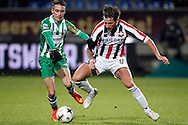 Onderwerp/Subject: Willem II v PEC Zwolle - Eredivisie<br /> Reklame:  <br /> Club/Team/Country: <br /> Seizoen/Season: 2014/2015<br /> FOTO/PHOTO: Mitchell DIJKS (R) of Willem II in duel with Max de BOOM (L) of PEC Zwolle. (Photo by PICS UNITED)<br /> <br /> Trefwoorden/Keywords: <br /> #04 #22 $64 &plusmn;1401974349562<br /> Photo- &amp; Copyrights &copy; PICS UNITED <br /> P.O. Box 7164 - 5605 BE  EINDHOVEN (THE NETHERLANDS) <br /> Phone +31 (0)40 296 28 00 <br /> Fax +31 (0) 40 248 47 43 <br /> http://www.pics-united.com <br /> e-mail : sales@pics-united.com (If you would like to raise any issues regarding any aspects of products / service of PICS UNITED) or <br /> e-mail : sales@pics-united.com   <br /> <br /> ATTENTIE: <br /> Publicatie ook bij aanbieding door derden is slechts toegestaan na verkregen toestemming van Pics United. <br /> VOLLEDIGE NAAMSVERMELDING IS VERPLICHT! (&copy; PICS UNITED/Naam Fotograaf, zie veld 4 van de bestandsinfo 'credits') <br /> ATTENTION:  <br /> &copy; Pics United. Reproduction/publication of this photo by any parties is only permitted after authorisation is sought and obtained from  PICS UNITED- THE NETHERLANDS