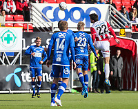 FotballFørstedivisjonTromsø IL vs Ranheim04.05.2014Simen Wangberg, TromsøThomas Rønning, RanheimGjermun Åsen, RanheimFoto: Tom Benjaminsen / Digitalsport