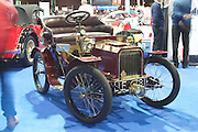 RIAC Classic Car Show 2013, RDS, 1904 Minerva-Minervette Type A. Owner: Dinny Cronin. Probably is the oldest Co Cork registration still resident in Co Cork. Undoubtedly, a fascinating early twentieth century car, Irish, Photo, Archive.