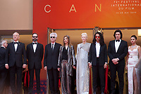 Bill Murray, Carter Logan, Tilda Swinton, Director Jim Jarmusch, Sara Driver,  Luka Sabbat, Adam Driver, Selena Gomez, at the Opening Ceremony and The Dead Don't Die gala screening at the 72nd Cannes Film Festival Tuesday 14th May 2019, Cannes, France. Photo credit: Doreen Kennedy