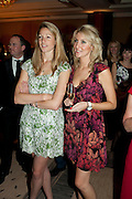 ROSIE KEMPSON; MICHELLE MCGRATH, Jumeirah Carlton Tower - 50th anniversary party<br /> Jumeirah Carlton Tower Hotel, Knightsbridge, London, SW1. 13 June 2011<br /> <br /> <br />  , -DO NOT ARCHIVE-© Copyright Photograph by Dafydd Jones. 248 Clapham Rd. London SW9 0PZ. Tel 0207 820 0771. www.dafjones.com.