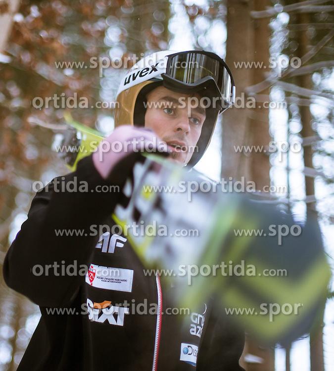 05.01.2015, Paul Ausserleitner Schanze, Bischofshofen, AUT, FIS Ski Sprung Weltcup, 63. Vierschanzentournee, Training, im Bild Piotr Zyla (POL) // during Training of 63rd Four Hills <br /> Tournament of FIS Ski Jumping World Cup at the Paul Ausserleitner Schanze, Bischofshofen, Austria on 2015/01/05. EXPA Pictures &copy; 2015, PhotoCredit: EXPA/ JFK