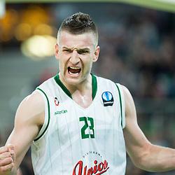 20150120: SLO, Basketball - EuroCup 2014/15, KK Union Olimpija vs FC Bayern Muenchen