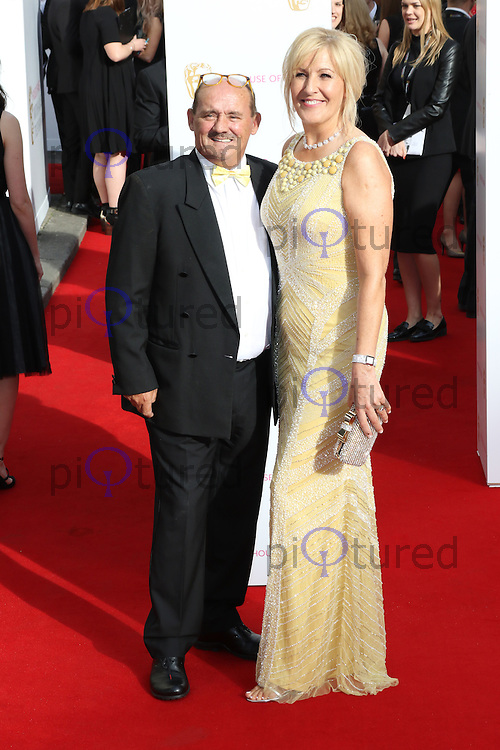 Brendan O'Carroll, House of Fraser British Academy Television Awards, Theatre Royal Drury Lane, London UK, 10 May 2015, Photo by Richard Goldschmidt
