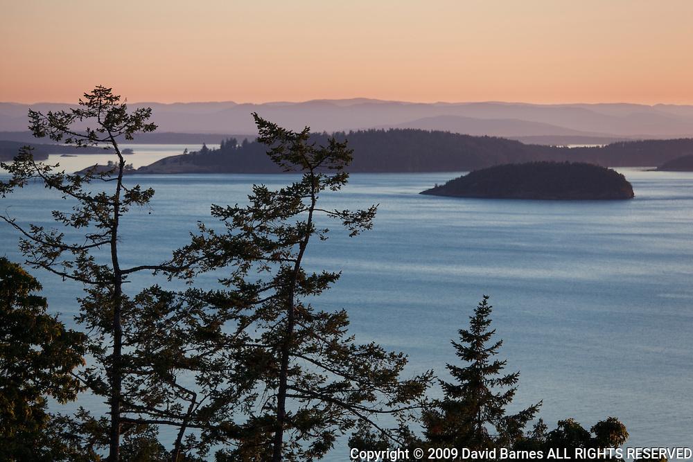 Haro Strait, Gulf Island, San Juan Islands, British Columbia, Canada