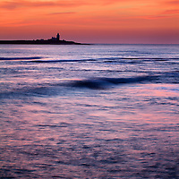 Coquet Island at Dawn Amble by the Sea Northumberland England