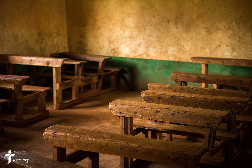 Classrooms at a primary school adjacent to the Othoro ELCK (Evangelical Lutheran Church in Kenya) Project 24 boarding facility on Sunday, Oct. 18, 2015, in Kisumu, Kenya. LCMS Communications/Erik M. Lunsford