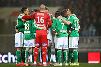 Joueurs de Saint Etienne - 28.02.2015 - Toulouse / Saint Etienne - 27eme journee de Ligue 1 -<br />
