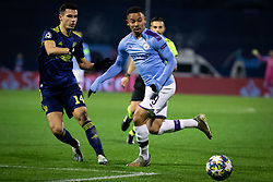 Amer Gojak of Dinamo Zagreb and Gabriel Jesus of Manchester City during football match between GNK Dinamo Zagreb and Manchester City in 6th Round of UEFA Champions league 2019/20, on December 11, 2019 in Maksimir, Zagreb, Croatia. Photo by Blaž Weindorfer / Sportida