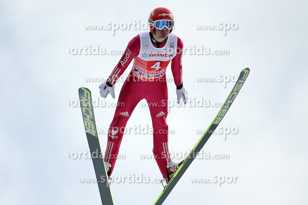 28.12.2013, Schattenbergschanze, Oberstdorf, GER, FIS Ski Sprung Weltcup, 62. Vierschanzentournee, Garmisch Partenkirchen, Bewerb, im Bild Danny Queck // Danny Queck during Competition of 62th Four Hills Tournament of FIS Ski Jumping World Cup at the at the Schattenbergschanze in Oberstdorf, Germany on 2013/12/28. EXPA Pictures &copy; 2014, PhotoCredit: EXPA/ Sammy Minkoff<br /> <br /> *****ATTENTION - OUT of GER*****