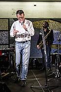 Roma, Lazio, Italia, 31/05/2016<br /> Concerto jazz di Geg&egrave; Telesforo e Max Ionata all'interno della stazione Metro Repubblica. E' il primo vero concerto all'interno della metropolitana di Roma. L'evento fa parte del progetto Tramjazz. Nella foto Geg&egrave; Telesforo.<br /> <br /> Rome, Lazio, Italy, 31/05/2016<br /> Jazz concert of Geg&egrave; Telesforo e Maz Ionata into the Repubblica metro station. It's the first real concert organized into the metro of Rome. The event is part of the Tramjazz project. Into the picture Geg&egrave; Telesforo