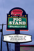 The Pig Stand Restaurant in San Antonio, Texas. (Supporting image from the project Hungry Planet: What the World Eats.)
