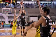 Gabriele Spizzichini<br /> Ambalt Recanati - Virtus Segafredo Bologna<br /> Campionato Basket A2 LNP 2016/2017<br /> Ancona, 03/12/2016<br /> Foto Ciamillo-Castoria