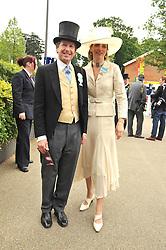 JOHN & LADY CAROLYN WARREN at the Royal Ascot racing festival 2009 held on 17th June 2009.
