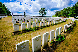 Sanctuary Wood Cemetery is a Commonwealth War Graves Commission cemetery for the dead of the First World War<br /> <br /> (c) Andrew Wilson | Edinburgh Elite media