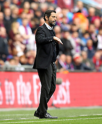 Watford Manager Quique Flores - Mandatory by-line: Robbie Stephenson/JMP - 24/04/2016 - FOOTBALL - Wembley Stadium - London, England - Crystal Palace v Watford - The Emirates FA Cup Semi-Final