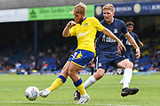 Leeds United Midfielder Samu Saiz (21) during the Pre-Season Friendly match between Southend United and Leeds United at Roots Hall, Southend, England on 22 July 2018. Picture by Stephen Wright.
