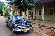 Car in Bolivia, Ciego de Avila Province, Cuba.