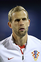 ZAGREB, CROATIA - NOVEMBER 09: Portrait of Ivan Strinic of Croatia during the FIFA 2018 World Cup Qualifier play-off first leg match between Croatia and Greece at Maksimir Stadium on November 9, 2017 in Zagreb, Croatia. (Goran Stanzl/PIXSELL)