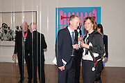 MICHAEL CRAIG-MARTIN; MICHAEL LANDY; FIONA RAE, Royal Academy of Arts Annual dinner. Royal Academy. Piccadilly. London. 1 June <br /> <br />  , -DO NOT ARCHIVE-© Copyright Photograph by Dafydd Jones. 248 Clapham Rd. London SW9 0PZ. Tel 0207 820 0771. www.dafjones.com.