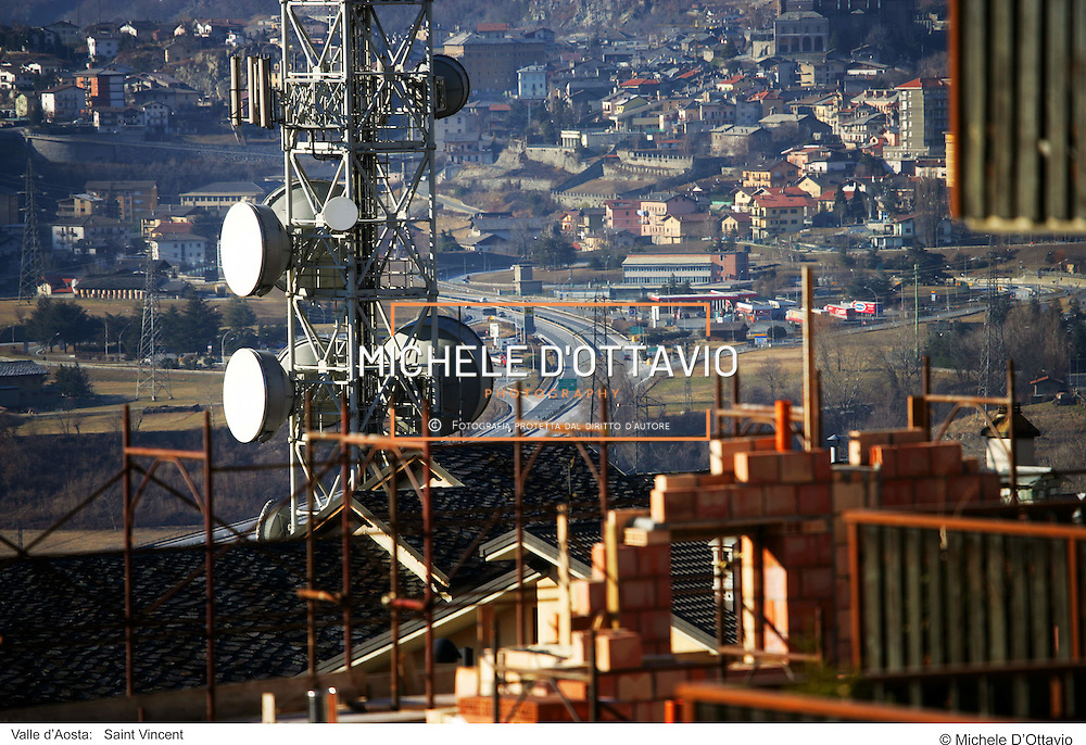 Valle d?Aosta:   Saint Vincent . fotografia di  Michele D?Ottavio