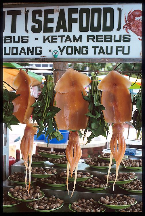 Seafood, Penang, Malaysia...Photo: Ahmad Yusni