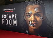 2019, Februari 22. Pathe ArenA, Amsterdam. Premiere van Escape Room. Op de foto: