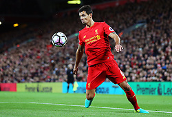 Dejan Lovren of Liverpool - Mandatory by-line: Matt McNulty/JMP - 22/10/2016 - FOOTBALL - Anfield - Liverpool, England - Liverpool v West Bromwich Albion - Premier League