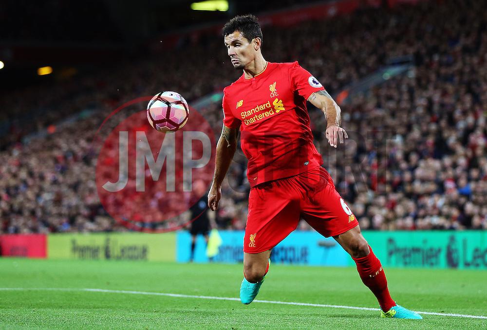 Dejan Lovren of Liverpool - Mandatory by-line: Matt McNulty/JMP - 22/10/2016 - FOOTBALL - Anfield - Liverpool, England - Liverpool v West Bromwich Albion - Premier League