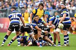 Kahn Fotulai'i of Bath Rugby  - Mandatory by-line: Joe Meredith/JMP - 17/09/2016 - RUGBY - Recreation Ground - Bath, England - Bath Rugby v Worcester Warriors - Aviva Premiership