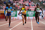 Briana Williams (JAM) wins the Gold Medal in 100 Metres Women during the IAAF World U20 Championships 2018 at Tampere in Finland, Day 3, on July 12, 2018 - Photo Julien Crosnier / KMSP / ProSportsImages / DPPI