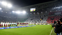 Coreografia Tifosi Juventus. Supporters <br /> Torino 17-12-2016, Juventus Stadium, Football Calcio 2016/2017 Serie A, Juventus - AS Roma, Foto Image Sport/Insidefoto