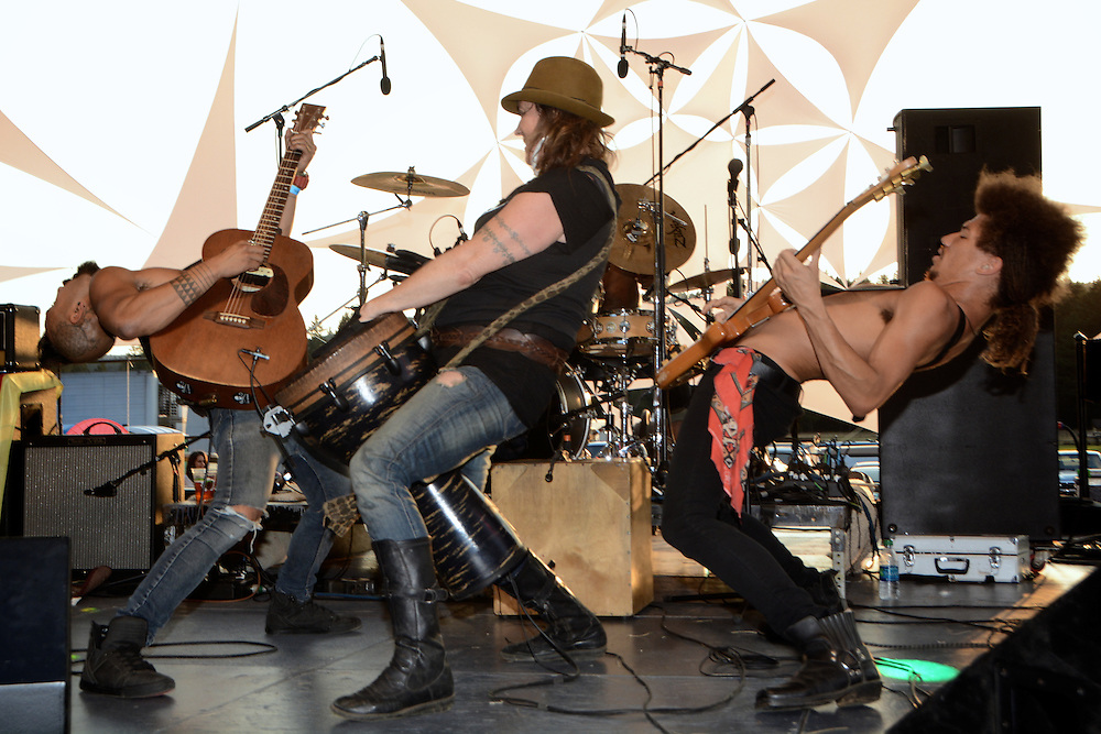 Nahko and Medicine for the People at Mohawk Valley Music Festival Oregon