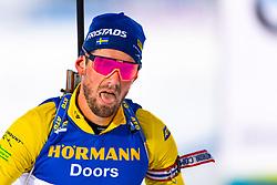 March 9, 2019 - –Stersund, Sweden - 190309 Fredrik Lindström of Sweden looks dejected after the Men's 10 KM sprint during the IBU World Championships Biathlon on March 9, 2019 in Östersund..Photo: Petter Arvidson / BILDBYRÃ…N / kod PA / 92252 (Credit Image: © Petter Arvidson/Bildbyran via ZUMA Press)