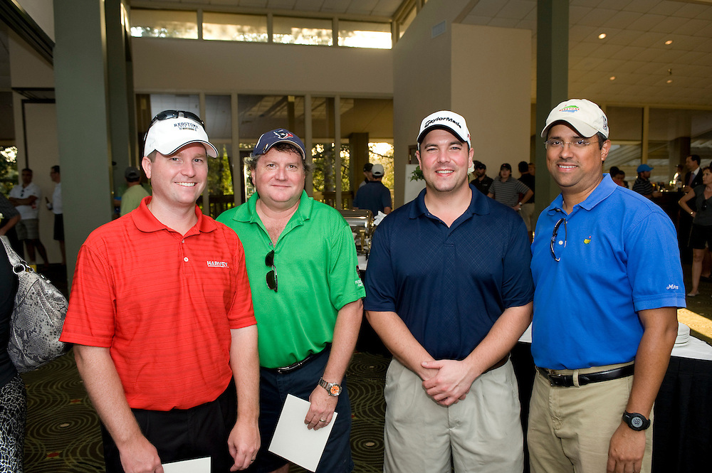 Photograph from the 2012 CoreNetGlobal Houston Chapter charity golf tournament benefitting New Hope Housing. Tournament took place on October 23, 2012, at the Woodlands Resort and Conference Center