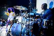 SZA performing at the Red Bull Sound Select at Rough Trade in New York City on July 15, 2014.