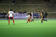 New Zealand v Japan, men's hockey, international hockey match at the Coastlands Kapiti Sports Turf in Paraparaumu, New Zealand  on Friday the 21st of November 2014.