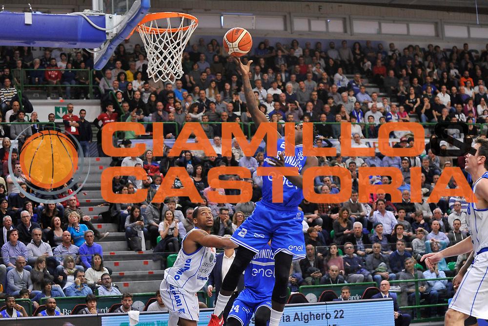 Durand Scott<br /> Banco di Sardegna Dinamo Sassari - Enel New Basket Brindisi<br /> LegaBasket Serie A LBA Poste Mobile 2016/2017<br /> Sassari 02/04/2017<br /> Foto Ciamillo-Castoria