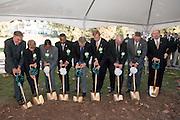 18414Academic & Research Center Groundbreaking September 29, 2007...Groundbreaking.Shot 1:  Chuck and Marilyn Stuckey, Mrs. McDavis, McDavis, Rick Vincent, Brose,Irwin, DeLawder, Lipman