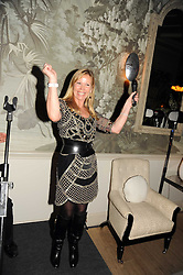 KIT KEMP at the Andrew Martin 2008 International Interior Designer of the Year Award held at The Haymarket Hotel, 1 Suffolk Place, London SW1 on 22nd September 2008.