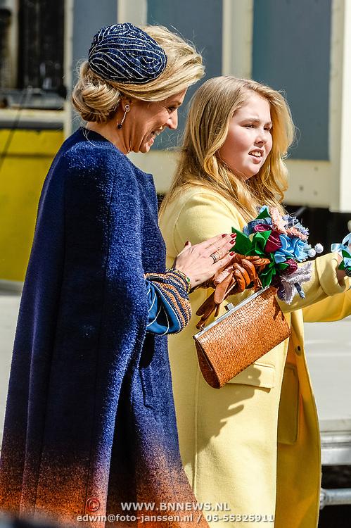 NLD/Tilburg/20170427- Koningsdag 2017, Koningin Maxima met Prinses Amalia
