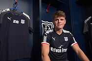 Dundee new boy Lewis Spence pictured after signing at Dens Park, Dundee, Photo: David Young<br /> <br />  - &copy; David Young - www.davidyoungphoto.co.uk - email: davidyoungphoto@gmail.com